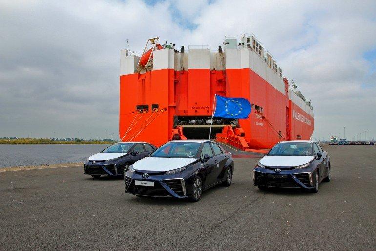 Toyota Mirai в Европе