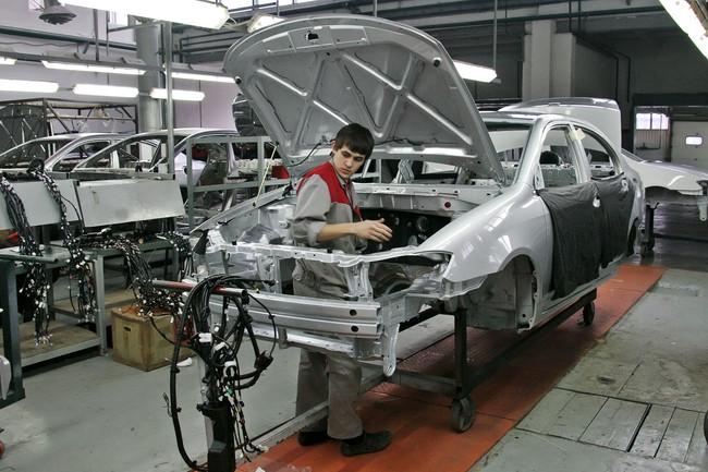 автомобильный завод в Чечне