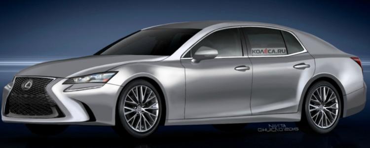 У мережу потрапили фотографії нового покоління Lexus LS