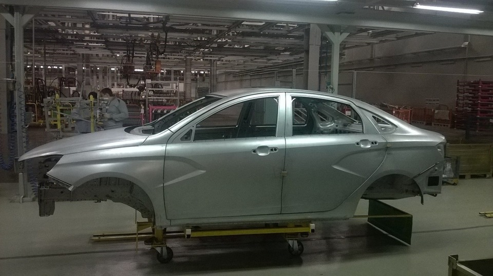 производство Lada Vesta