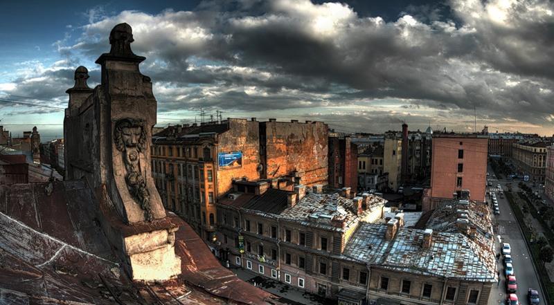 Прогулки по крышам Петербурга  станут легальным развлечением