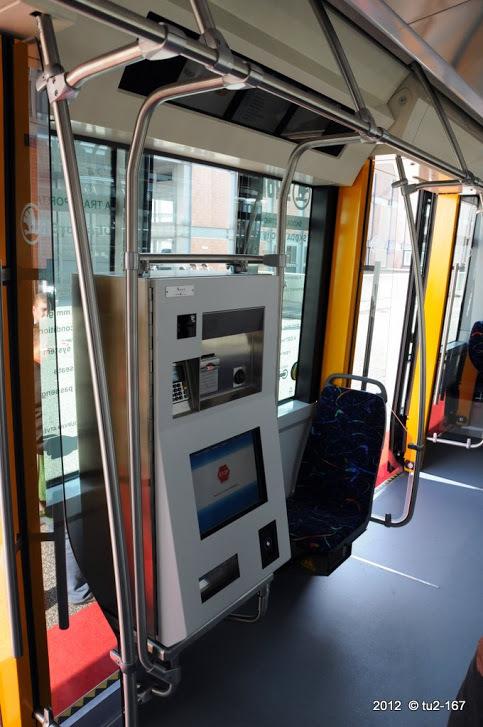 В Петербургском транспорте появятся аппараты по продаже билетов