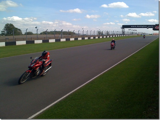 Going fast on a track is cool!