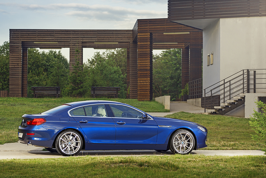 bmw Grand Coupe dark blue 10