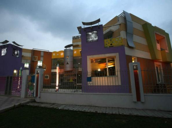 необычный детский сад Индия