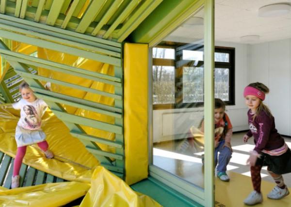 необычный детский сад Германия дети питание