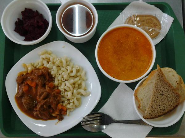 школьное питание детей