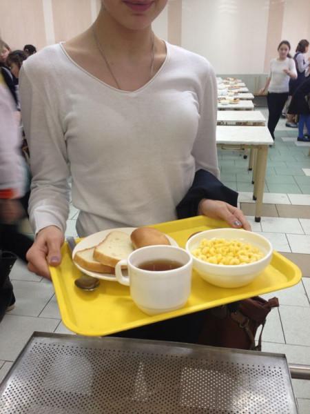школьное питание завтрак
