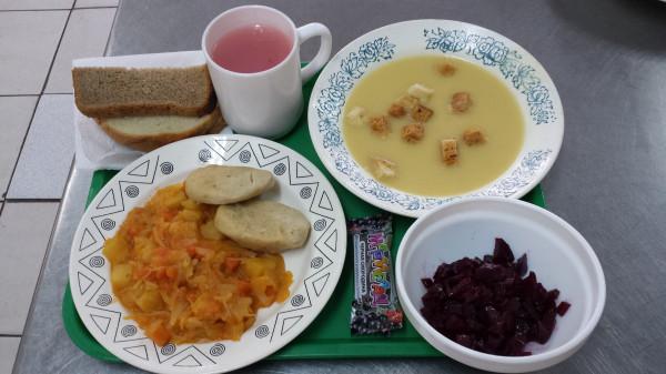 школьный обед Москва
