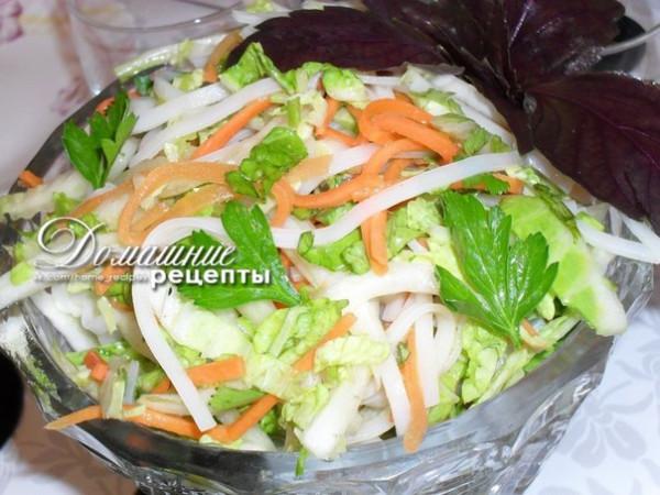 Рецепты вкусных китайских салатов