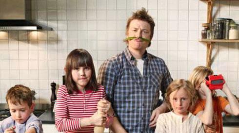 Джейми Оливер и его дети