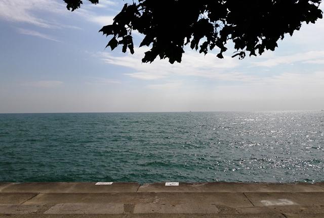 View of Lake Michigan