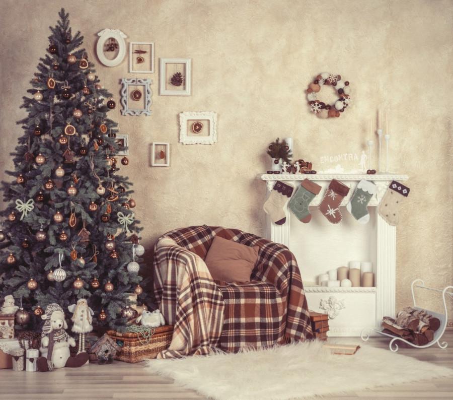 Как сделать новогодний фон для фотосессии
