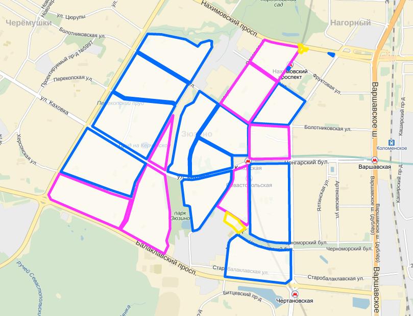 Карта межевания