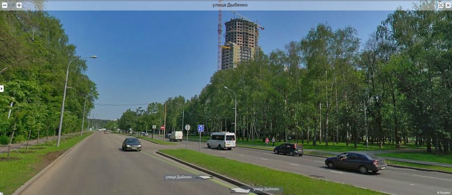Улица Дыбенко