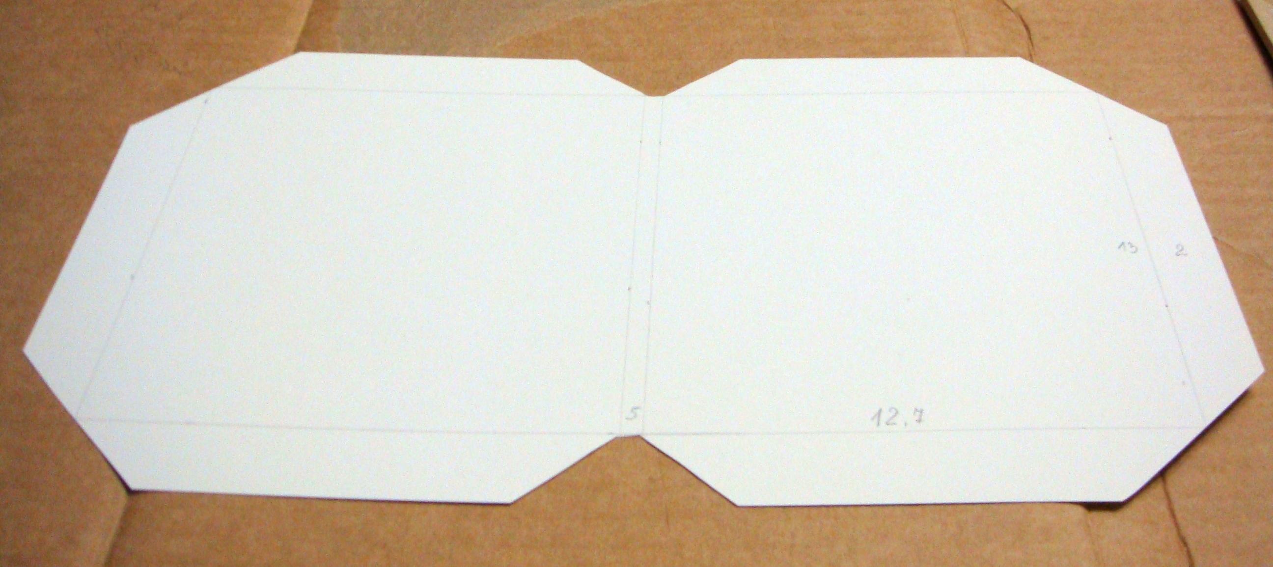 Как сделать конверт из бумаги а4 для диска