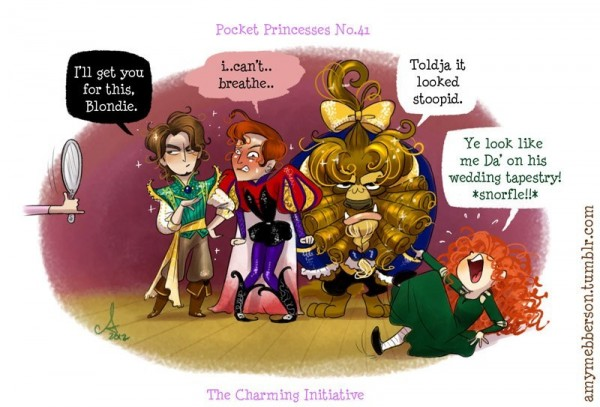 Сказка про Принца и Принцессу