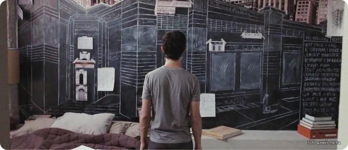 ГОЛЛИВУДСКИЕ ИНТЕРЬЕРЫ - Интерьеры из фильма 500 дней лета