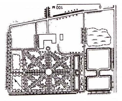 план парка