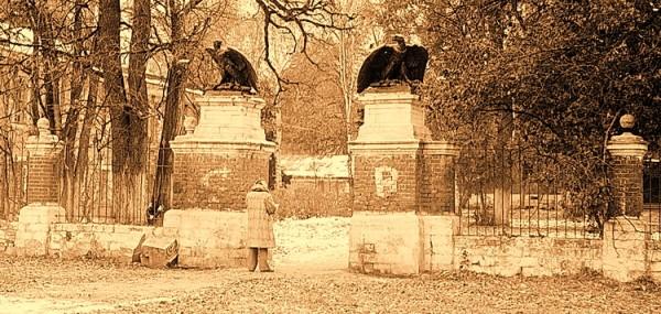 Ворота парковые