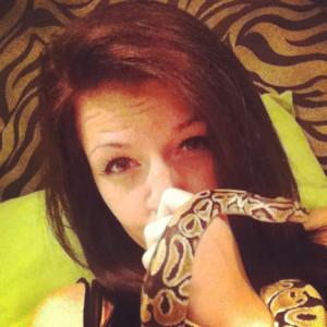 Kaleigh Akkerman Animal Hoarder Snake-3