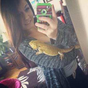 Kaleigh Akkerman Animal Hoarder Bearded Dragon-2