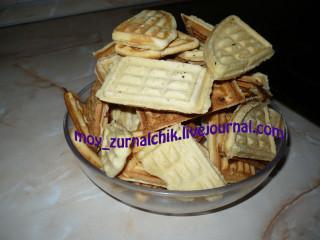 Домашнее печенье (для формы-сковороды) - 5 рецептов!