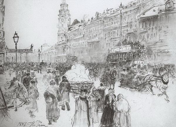 Невский проспект-1887