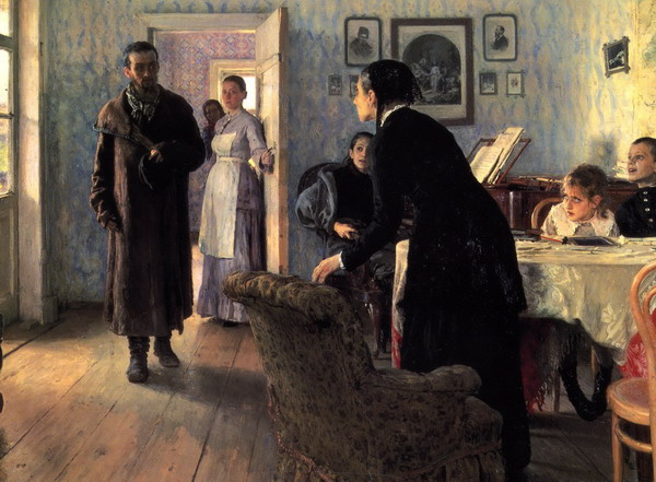 Репин_Не ждали_1884-1888