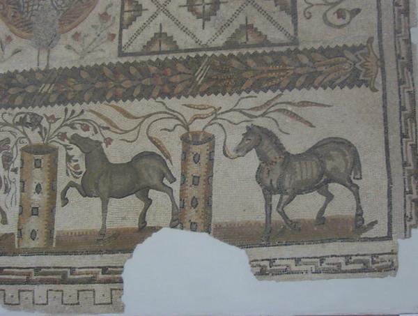 Horse Mosaic Bardo