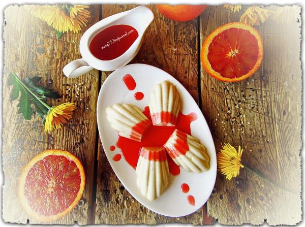 ...ракушки в красном апельсине