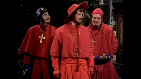 Monty python spanish inquisition costume