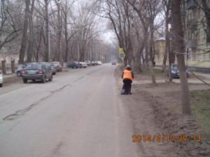 Подбор бытового мусора ул.Бакинская