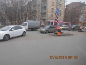 Пешеходный переход Аврора-Гагарина
