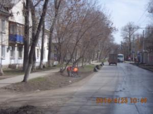 Очистка ул.Фасадная