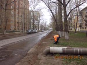 Подбор бытового мусора ул.Калининградская