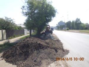 Вывозка грунта с обочин дорог улю Уральская