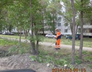 Кошение травы Ул. Саратовский пер