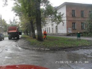 очистка урн от мусора SAM_0172