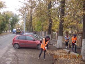 Очистка ул.Бакинская