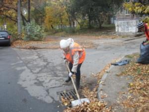 ул.М.Тореза очистка дождеприёмников