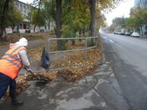ул.М.Тореза очистка радиусов