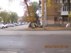 Подметание тротуаров ул.Бакинская