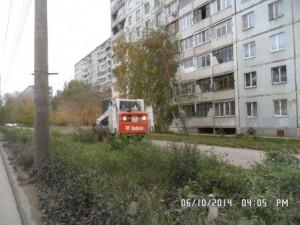 Мех.очистка тротуаров Ташкентская