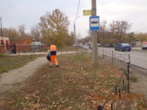 Подбор мусора ул.Грозненская