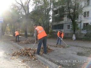 22 Партсъезд уборка листвы (1)