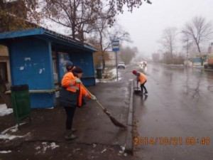 Очистка посадочных площадок Ул.Уральская