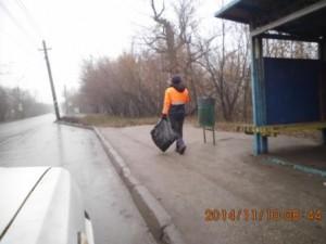 Подбор мусора ул. Кряжское шоссе