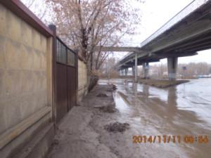 Очистка прилотковой части ул.Грозненская