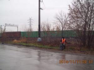 Подбор бытового мусора ул.Заводская
